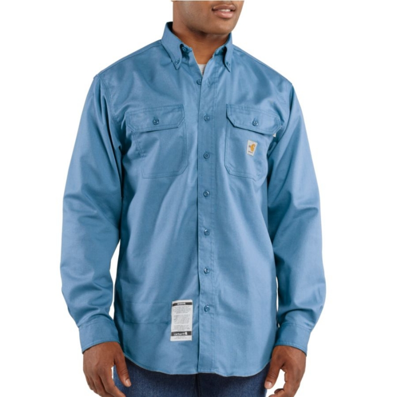 Carhartt FR Twill Shirt with Pocket Flaps